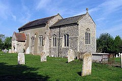St Peter's Church, Easton, Norfolk - geograph.org.uk - 806110.jpg