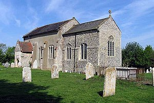 Easton, Norfolk - Image: St Peter's Church, Easton, Norfolk geograph.org.uk 806110