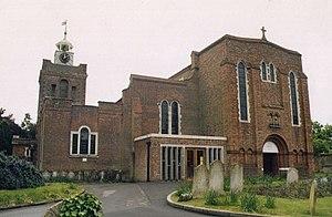 Grade II* listed buildings in Fareham (borough) - Image: St Peter and St Paul, Fareham geograph.org.uk 1511534