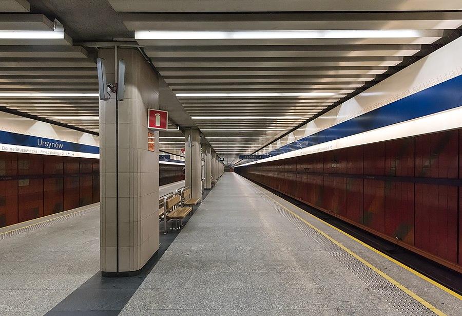 Ursynów metro station