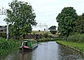 Staffordshire and Worcestershire Canal by the West Coast Main Line - geograph.org.uk - 1483471.jpg