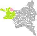 Stains (Seine-Saint-Denis) dans son Arrondissement.png