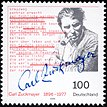 Stamp Germany 1996 Briefmarke Carl Zuckmayer.jpg