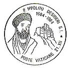 Stamp with the image of Ippolito Desideri.jpg