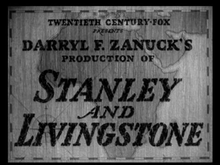 Description de l'image  Stanley and Livingstone Kenry King 1940.png.