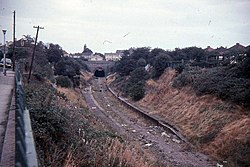Staple Hill railway station in 1967.jpg