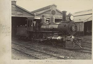 StateLibQld 1 244062 Engine 281 in the locomotive sheds at Ipswich.jpg