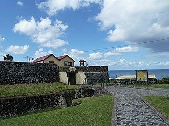 Oranjestad, Sint Eustatius - Fort Oranje