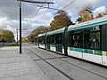 Station Tramway Ligne 3a Cité Universitaire Paris 19.jpg