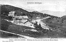 Carte postale ancienne en noir et blanc