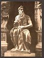 """Statue by Michael Angelo, """"The Seated Moses"""", Rome, Italy-LCCN2001700952.jpg"""