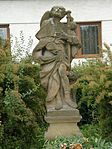 Statue of Saint Roch (Boskovice).JPG