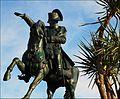 Statue rénovée de Napoléon à Cherbourg-en-Cotentin.jpg