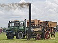 Steam engine and thresher (7717804360).jpg