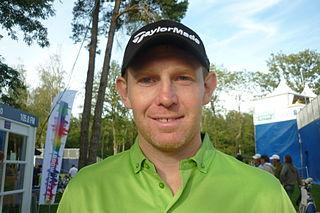 Stephen Gallacher professional golfer