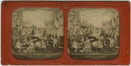 Stereokort, La Grande-Duchesse de Gérolstein 2, acte I, scène XII - SMV - S121a.tif