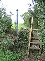 Stile and footpath near Din Lligwy-Din Llugwy - geograph.org.uk - 951326.jpg