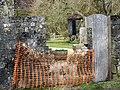 Stolen postbox, Fonthill Gifford - geograph.org.uk - 1764131.jpg
