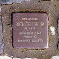 Stolperstein Barsinghausen Ruth ten Brink.jpg