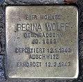 Stolperstein Berliner Str 7 (Tegel) Regina Wolff.jpg