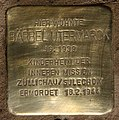 Stolperstein Breite Str 24 (Schma) Bärbel Utermarck.jpg