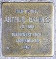 Stolperstein Schönwalder Str 13 (Spand) Arthur Hannes.jpg