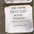 Stolperstein Scheffelstraße 22 Irene Kahn.jpg