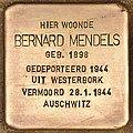 Stolperstein für Bernard Mendels (Den Haag).jpg