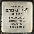 Stolperstein für Jenö Sziklai.jpg