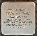 Stolperstein für Roza Schwarz geb. Stein (Lendava).jpg