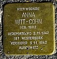 Stolpersteine Gouda Krugerlaan149 (detail1).jpg