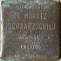Stolpersteine Köln, Dr. Moritz Schwarzschild (Kreuzgasse 21).jpg