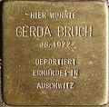 Stolpersteine Köln Lochnerstrasse 1 Gerda Bruch.jpg