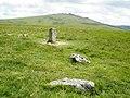 Stone circle, on Langstone Moor - geograph.org.uk - 1386523.jpg