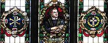 Luther-Fenster in der Straßburger Erlöserkirche (Quelle: Wikimedia)