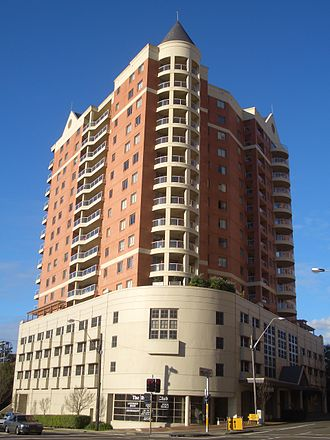 Strathfield, New South Wales - Contemporary apartments in the commercial area