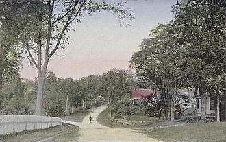 Ossipee, New Hampshire - Street scene c. 1910