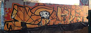 Street art in Atlanta - Street art on the BeltLine, 2012