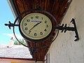 Street clock. - Simor János Street, Esztergom.jpg