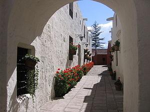 Santa Catalina Monastery - Image: Street in the Monasterio de Santa Catalina