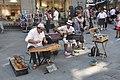 Street performers in Saint--Malo (France).jpg