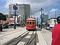 Streetcar in New Orleans - Canal Street October 2004.jpg