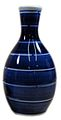 Stripes blue white sake bottle 245cc.jpg