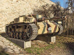Sturmgeschütz III - StuG III Ausf. F/8 (Sd.Kfz.142/1) at Belgrade Military Museum, Serbia
