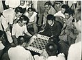 Students of the Taihoku High School playing chess.jpg
