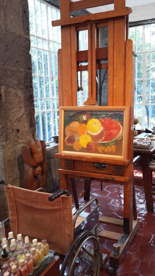 Studio of Frida Kahlo