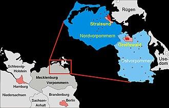 Study of Health in Pomerania - study region of the SHIP