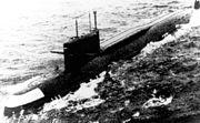 Submarine Yankee I class