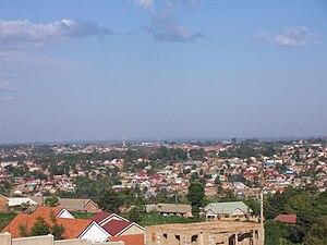 Kampala - A view of suburban Kampala