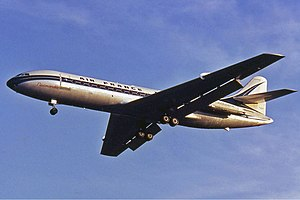 Sud Aviation Caravelle - Inflight Air France Caravelle III